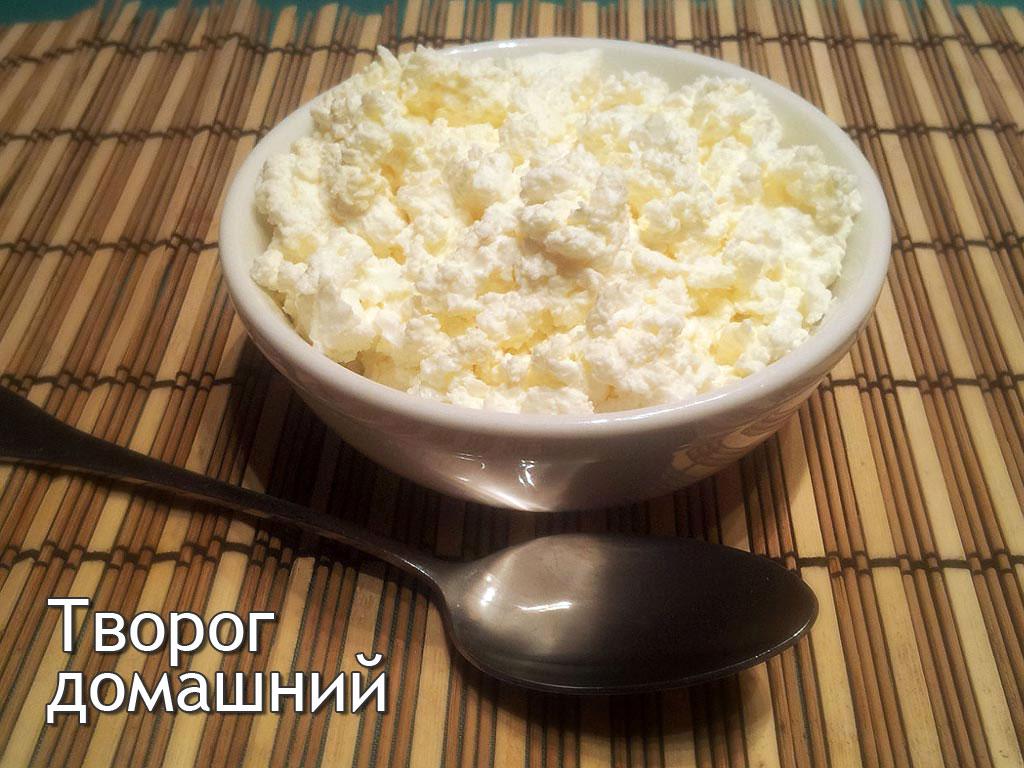 Как сделать творог домашний из молока
